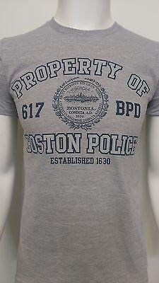 Property Of Boston Police T Shirt