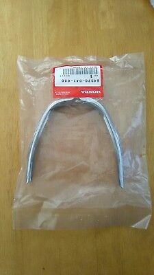 Honda C50 C70 C90 Cub 6 Volt New Genuine Legshield Chrome Trim  64370-041-000