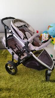 Strider Plus Double Pram  Maryland 2287 Newcastle Area Preview