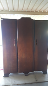 Wooden Wardrobe East Hills Bankstown Area Preview