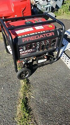 Predator 9000 Portable Generator With Electric Start