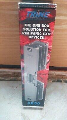 Trine Axion Access Exit Device Electric Door Strike 4850-32d 12-24 Dc Rim Panic