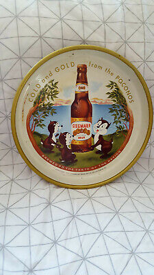 Vintage Antique Stegmaier Beer Ale Restaurant Alcohol Serving Tray 1950s (Stegmaier Beer)