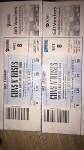 Guns n Roses Tickets Tenambit Maitland Area Preview