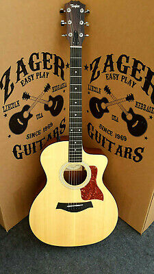 """Taylor 114CE Acoustic Electric Guitar, """"Easy Play"""" made, rare collection! #4229"""