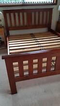 Queen size bed frame and FREE bedside table Hornsby Hornsby Area Preview