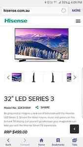 """Hisense 32"""" smart TV 32k3110w Blacktown Blacktown Area Preview"""