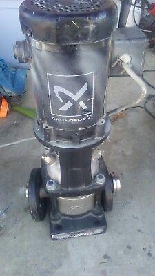 Grundfos Cri3-2 A Fgjie Hqqe Centrifugal Pump