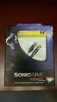 Impact Acoustics Sonic Wave S-Video Interconnect 0.9m (3 Ft).