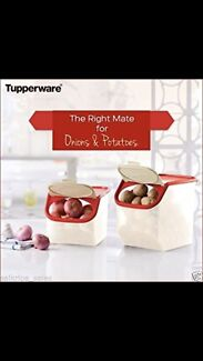 Tupperware Potato & onion keepers