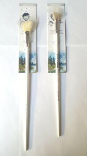 Bob Ross Fan Blender Brush Set Size 3 and 6