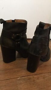 Nasty Gal and Jeffrey Campbell Black Leather Boots