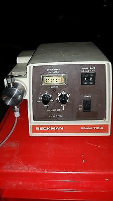 Beckman Model 110a Solvent Delivery Pump 50-150 Psi Chemistry Bio Lab