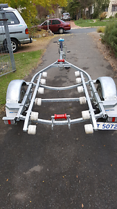 Boat Trailer - Full Adjustable Narrabundah South Canberra Preview