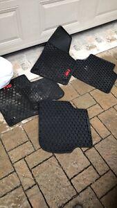 Jetta gli winter floor mats