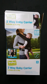 2 way baby carrier - new