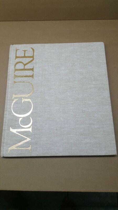 Vintage 1985 Mcguire Rattan Furniture Catalog-Portfolio- VHTF hardback many pics