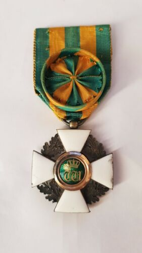 Luxembourg, ca.1880, Order of the Oaken Crown