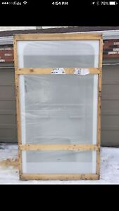 Brand New One Piece Shower with Bench