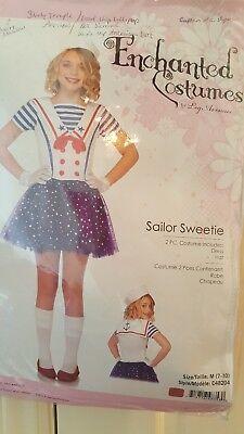 sailor girl costume 8-10 halloween or dress up for program ice skating - Programming Halloween