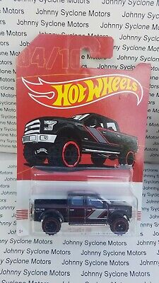HOT WHEELS 2015 FORD F-150 QUAD CAB 4X4 PICKUP TRUCK WALMART ONLY BLACK 4/10