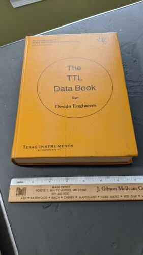 Texas Instruments The TTL Data Book 1973 FIRST EDITION