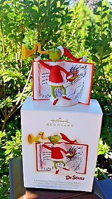 NIB 2009 Hallmark Dr. Seuss Christmas Means Something More Ornament