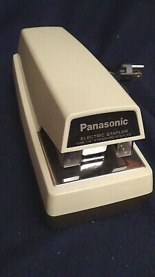 Panasonic As-300 Electric Stapler Tested