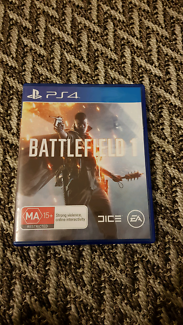 Battlefield 1 ps4 PlayStation 4 video game