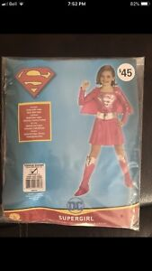 Super girl costume size 2-4.
