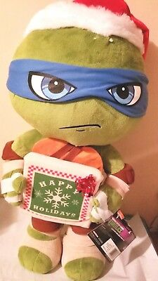 Nickelodeon Teenage Mutant Ninja Turtles Leonardo Christmas Greeter 24