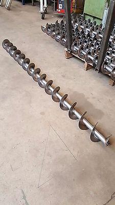 Förderschnecke Getreideschnecke Pelletsschnecke 85 mm DM