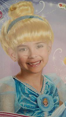 Disney Princess Cinderella Child Blonde Dress Up Wig - Blonde Female Halloween Costumes