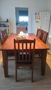 6 seater table and chairs Moonta Copper Coast Preview