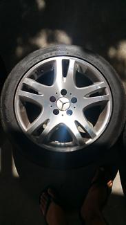 Mercedes wheels