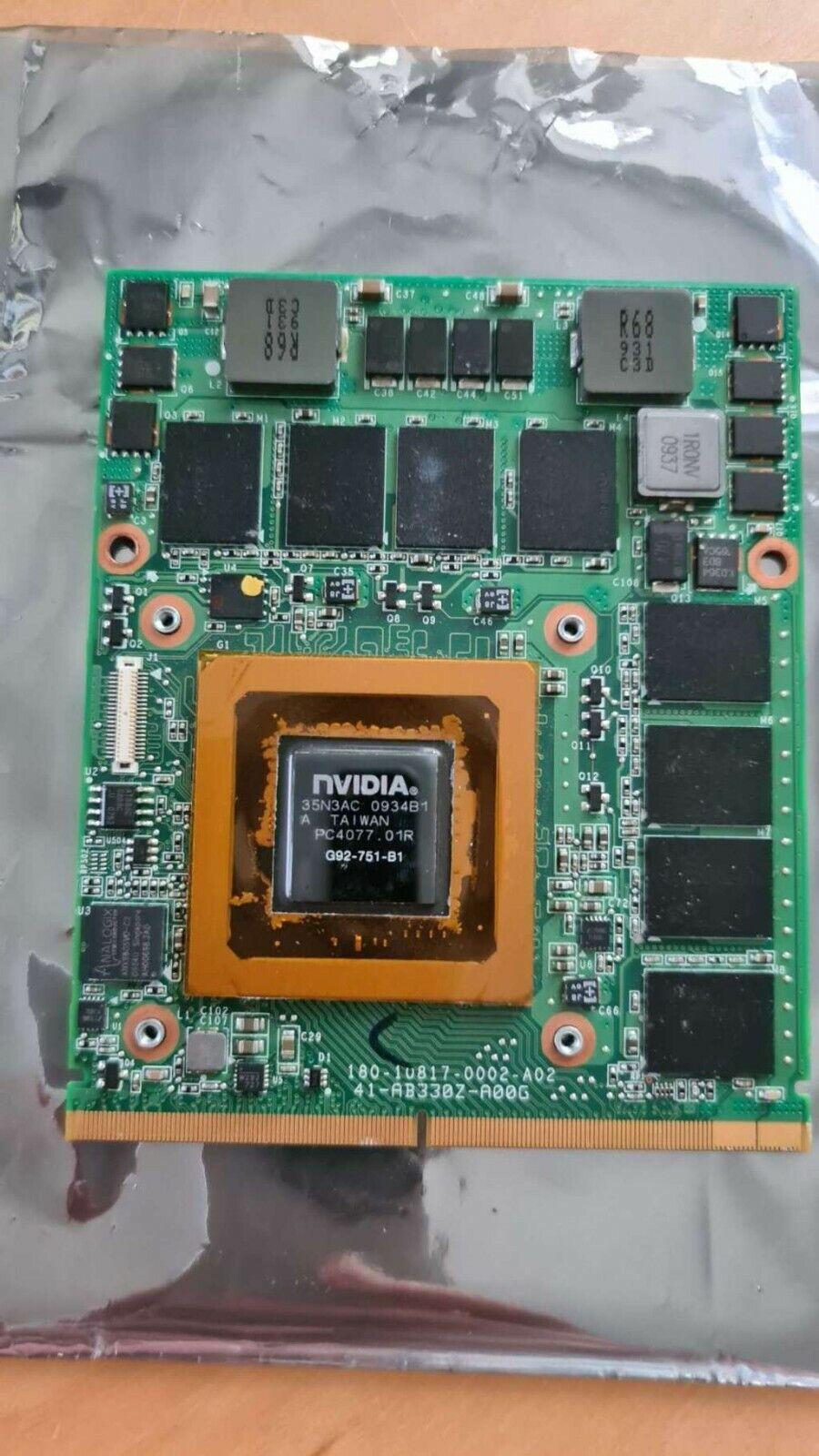 Nvidia GTX 260M 1GB Grafikkarte MXM
