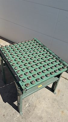 Ball Transfer Gravity Roller Table 26x36 Roach Conveyor 3 Inch Spacing