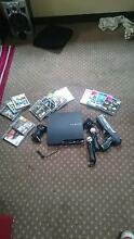 Playstation 3 120gb plus 13 games and Move controllers Hobart CBD Hobart City Preview