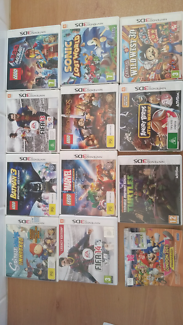 3DS gamesand DS games