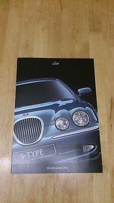 1999 Jaguar S-Type Preview Brochure