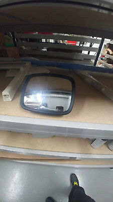 HYMER MOTORHOME REAR VIEW DOOR PANORAMIC WIDE ANGLE MIRROR