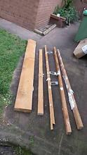 Solid oregon pine beam, plus other pieces of pine Umina Beach Gosford Area Preview