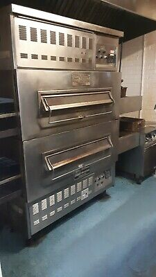 Middleby Marshall Js-300-1 Double Deck Conveyor Pizza Oven - Gas