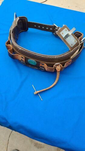 Buckingham ERS 2-D ring Climbing Belt Size 24