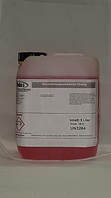 Beizgerät 5L FINISH SPEED Hochleistungs Spezial Elektrolyt für Carbonpinsel