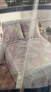 Queen bed spread with pillow cases brand new Yagoona Bankstown Area Preview