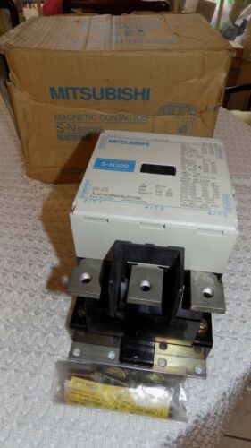 NEW MITSUBISHI BH802Y916H04 MOTOR CONTROLER MODEL SN300 STARTER/ CONTACTOR