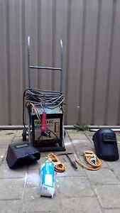 140A Arc Welder on trolley + Rods + accessories Hilton West Torrens Area Preview