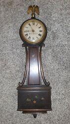 Vintage Hamilton Sangamo Banjo Clock
