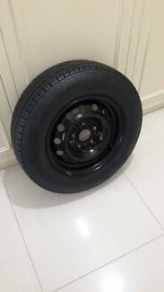 14 inch rim and tyre new like
